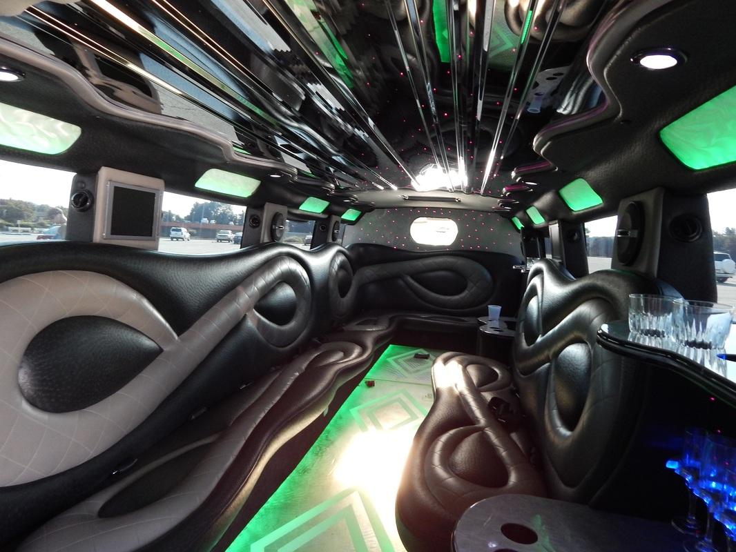 H2 Limousine Interior